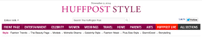 Chiara Ferragni street style by STYLEDUMONDE on Huffington Post cover