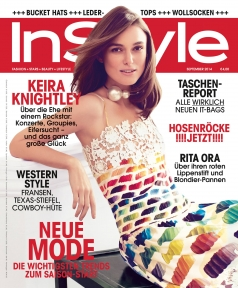 InStyle Germany September 2014 Cover STYLEDUMONDE