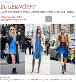 Lily Donaldson and Pandora Sykes Street Style Street Fashion Streetsnaps by STYLE DU MONDE on Instyle Germany