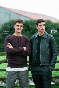 Nicola Philippaerts and Olivier Philippaerts by STYLEDUMONDE for H&M HM We love horses