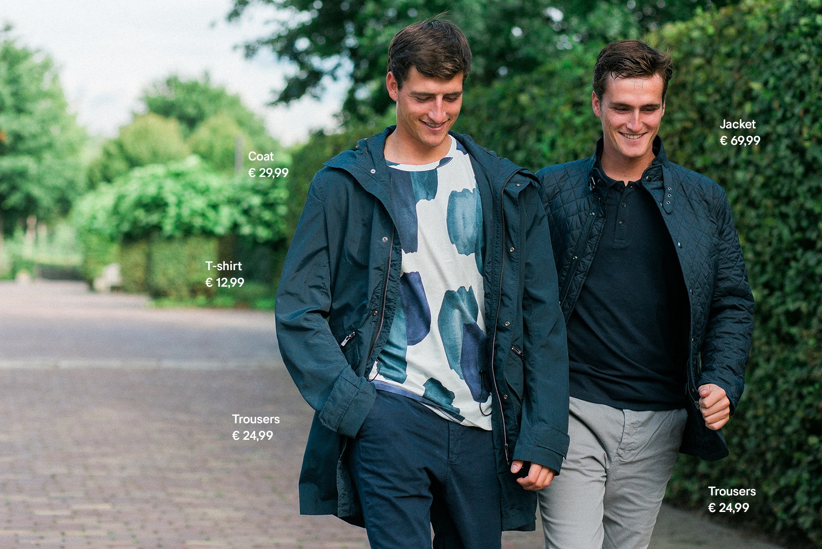 Nicola Philippaerts and Olivier Philippaerts by STYLEDUMONDE for H&M We love horses