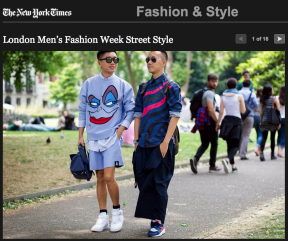 STYLE DU MONDE Street Style on The New York Times