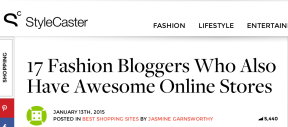 STYLE DU MONDE feat as STYLE DU MONDE featured as Fashion Blogger Who Also Have Awesome Online Store on StyleCasterCom