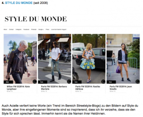 STYLE DU MONDE photography on Otto Two For Fashion Blog - December 2013