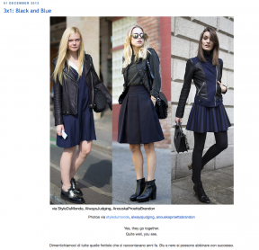 STYLEDUMONDE  on GRAZIA IT Blue is in fashion this year