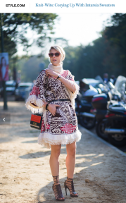 Sofie Valkiers Street Style Street Fashion Streetsnaps by STYLEDUMONDE on StyleCom