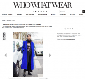 Style Du Monde on Who What Wear Feb 01 2014 15 winter outfit ideas that are anything but boring - Manon Leloup