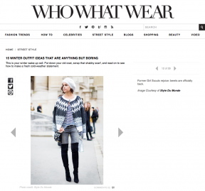 Style Du Monde on Who What Wear Feb 01 2014 15 winter outfit ideas that are anything but boring - Mira Duma Miroslava Duma