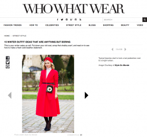 Style Du Monde on Who What Wear Feb 01 2014 15 winter outfit ideas that are anything but boring - Nasiba Adilova