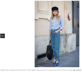 Vogue Street Style Stars to watch by 5 best street style photographers STYLEDUMONDE Alexandra Carl