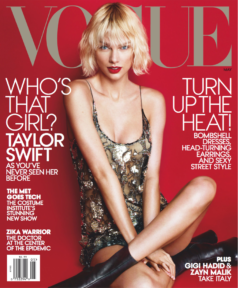 Vogue US cover Taylor Swift May 2016