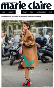 STYLEDUMONDE on Marie Claire