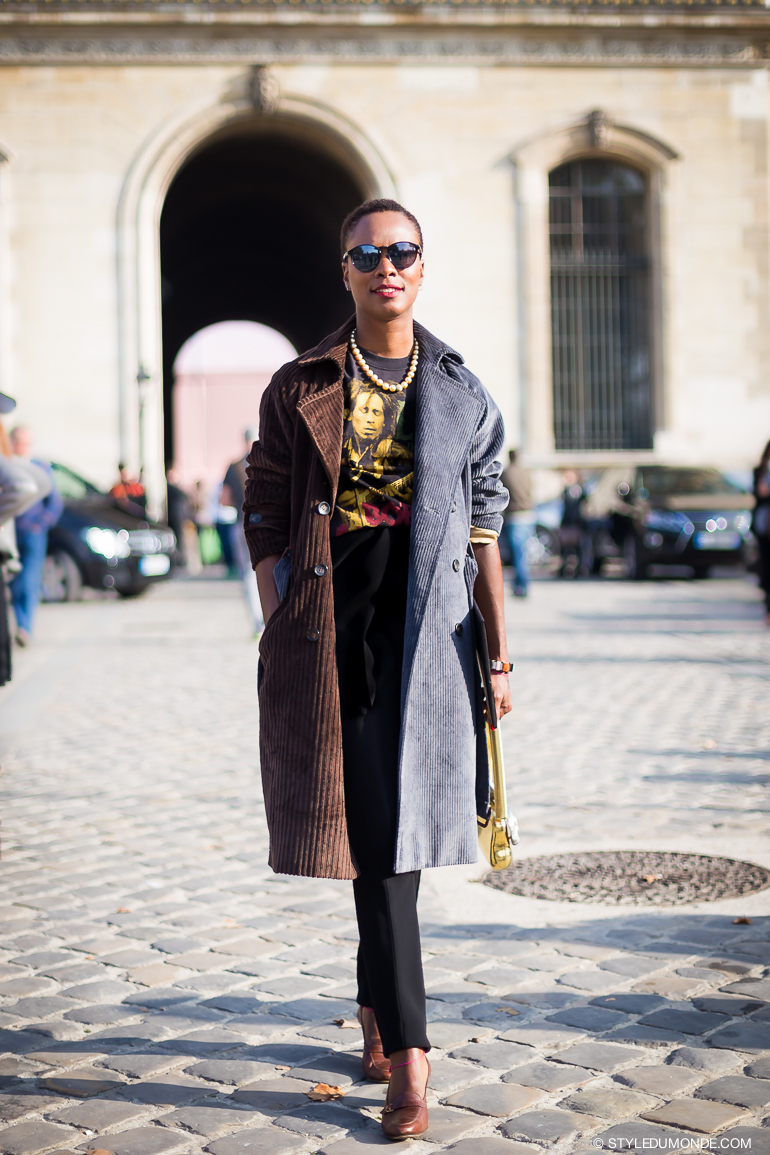 Shala Monroque Street Style Street Fashion by STYLEDUMONDE Street Style Street Fashion blog