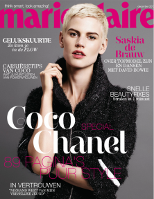 STYLE DU MONDE blog of the month on Marie Claire NL December 2013 cover