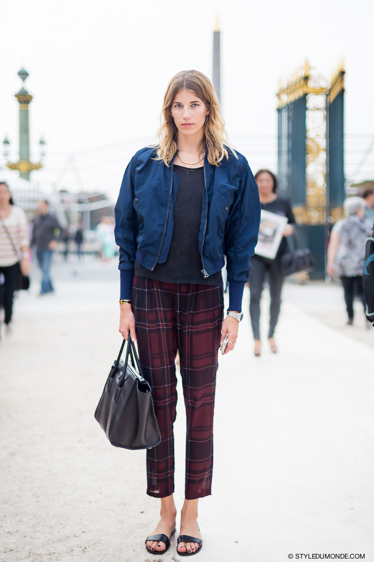 Veronika Heilbrunner Street Style Street Fashion by STYLEDUMONDE Street Style Street Fashion blog