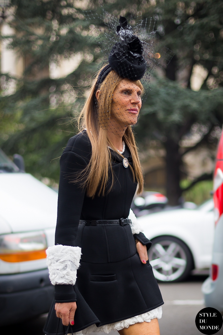 Anna Dello Russo Street Style Street Fashion by STYLEDUMONDE Street Style Street Fashion blog