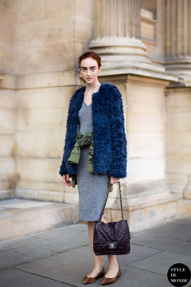 Frances Coombe Street Style Street Fashion by STYLEDUMONDE Street Style Street Fashion blog