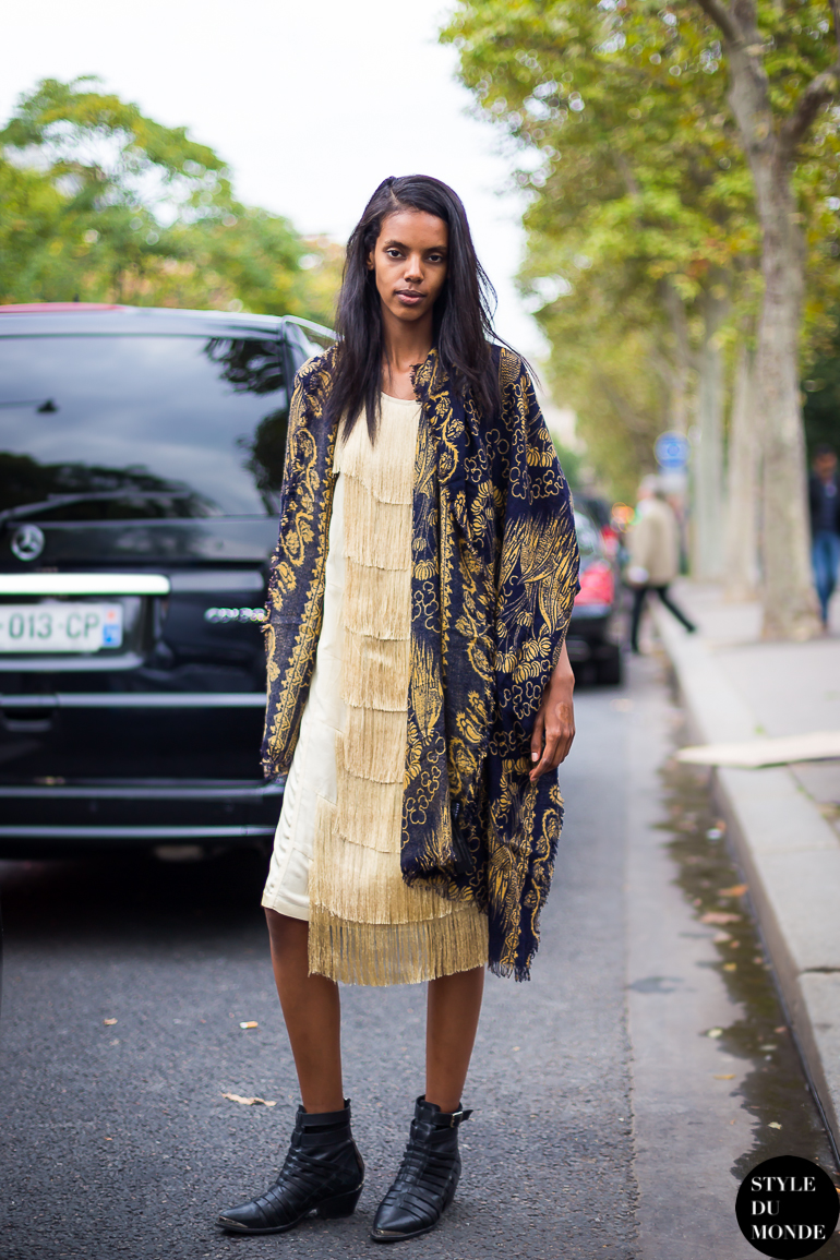 Paris fw ss14 street style grace mahary style du monde street style street fashion photos Grace fashion style chicago
