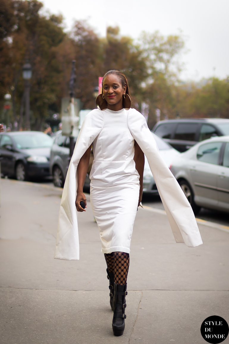 Michelle Elie Street Style Street Fashion by STYLEDUMONDE Street Style Street Fashion blog