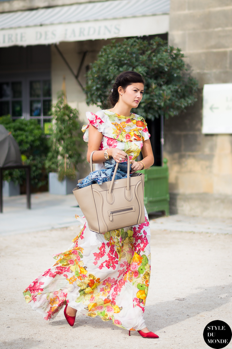 Peony Lim Street Style Street Fashion by STYLEDUMONDE Street Style Street Fashion blog