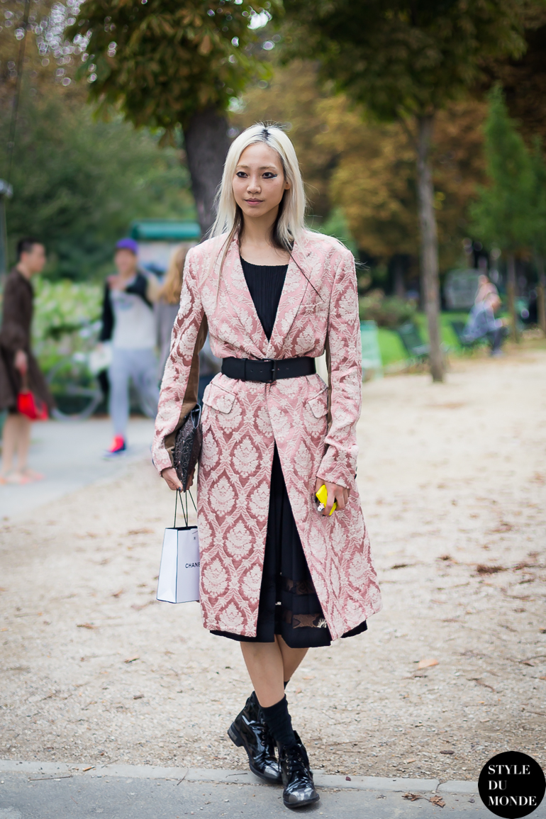 Soo Joo Park Street Style Street Fashion by STYLEDUMONDE Street Style Street Fashion blog