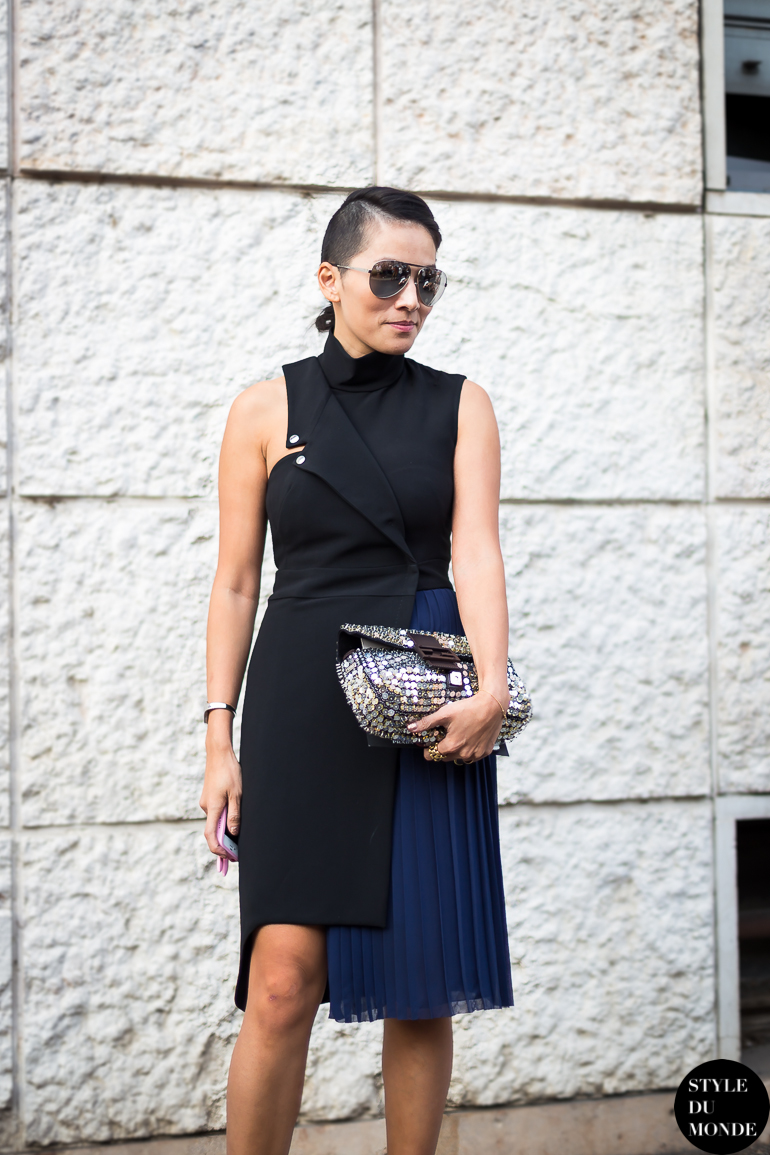 Tina Leung Street Style Street Fashion by STYLEDUMONDE Street Style Street Fashion blog