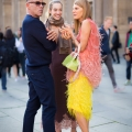 George Cortina & Anna Dello Russo Street Style Street Fashion by STYLEDUMONDE Street Style Street Fashion