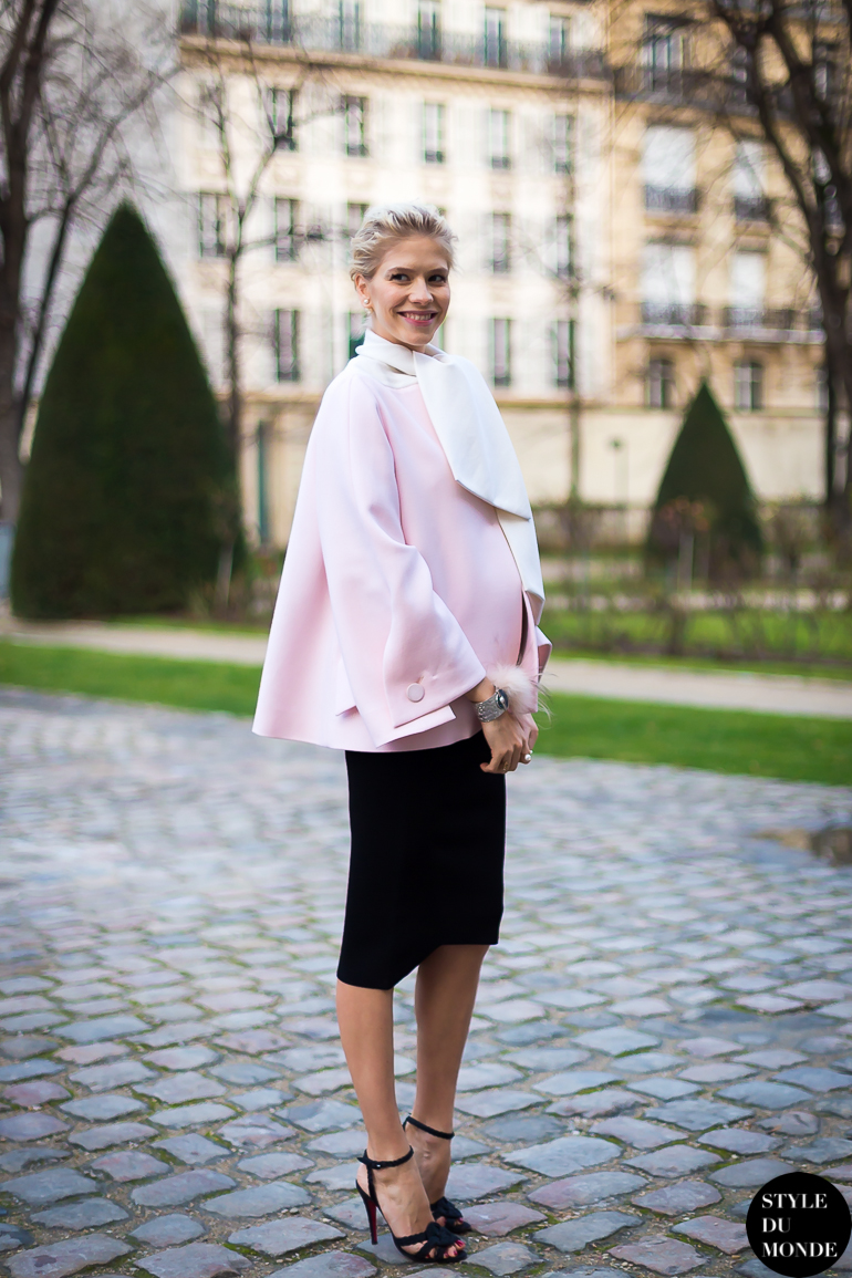 Lena Perminova Street Style Street Fashion by STYLEDUMONDE Street Style Fashion Blog
