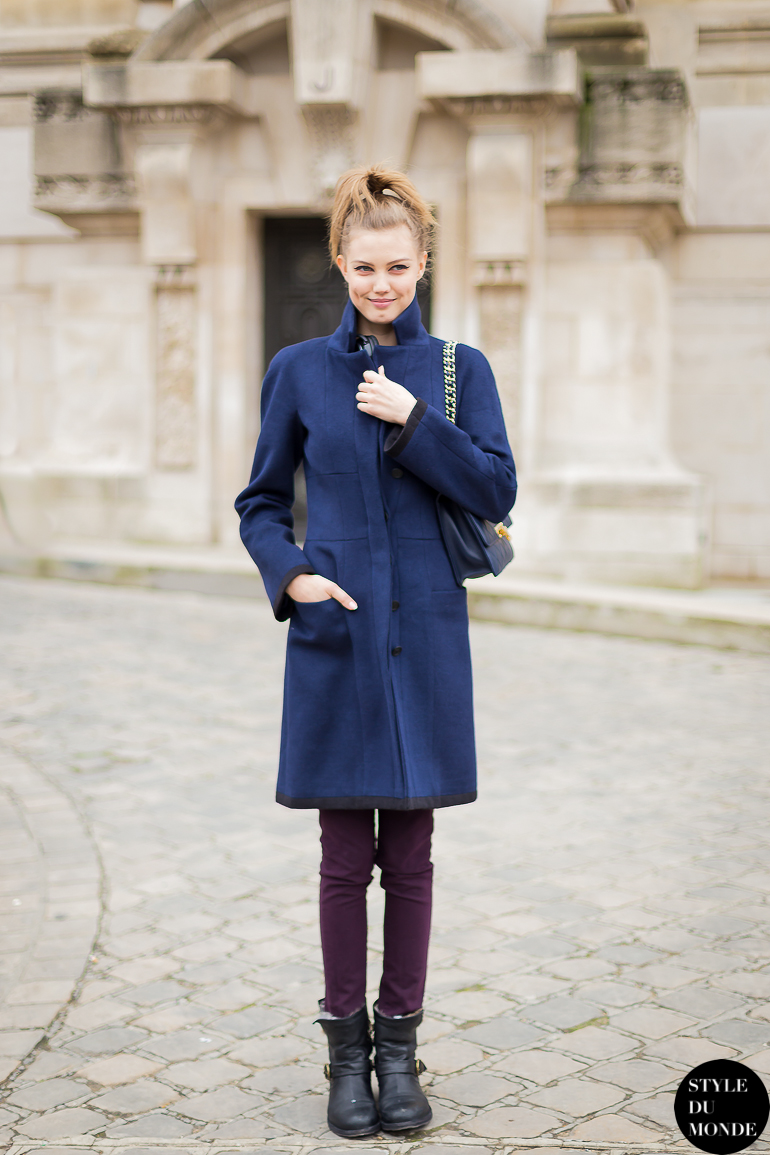 Lindsey Wixson Street Style Street Fashion by STYLEDUMONDE Street Style Fashion Blog