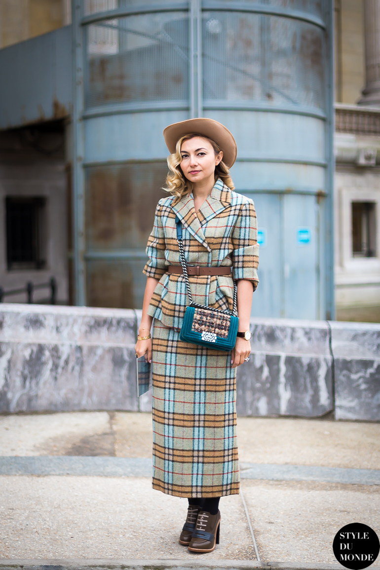 Nasiba Adilova Street Style Street Fashion by STYLEDUMONDE Street Style Fashion Blog