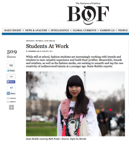 STYLEDUMONDE on Business of Fashion Susie Bubble Stylebubble Susanna Lau by STYLEDUMONDE Street Style Street Fashion Blog