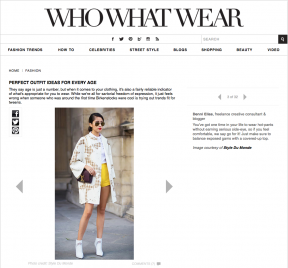 Style Du Monde on Who What Wear January 22 2014 Perfect outfit Ideas for every age Chicmuse Street Style Street Fashion