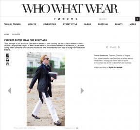 Style Du Monde on Who What Wear January 22 2014 Perfect outfit Ideas for every age Tonne Goodman Street Style Street Fashion