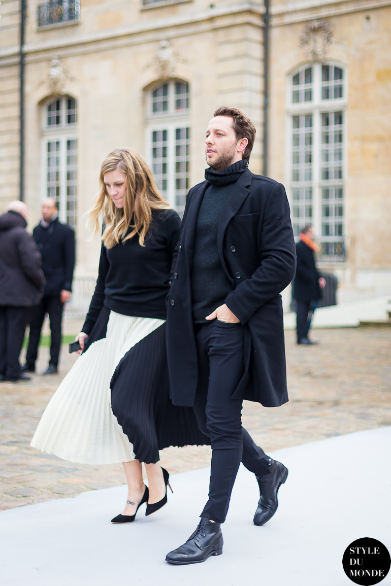 Derek Blasberg Street Style Street Fashion by STYLEDUMONDE Street Style Fashion Blog