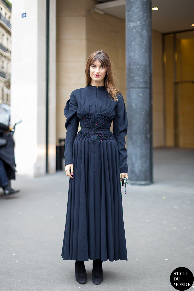 Haute Couture Ss 2014 Street Style Jeanne Damas Style Du Monde Street Style Street Fashion