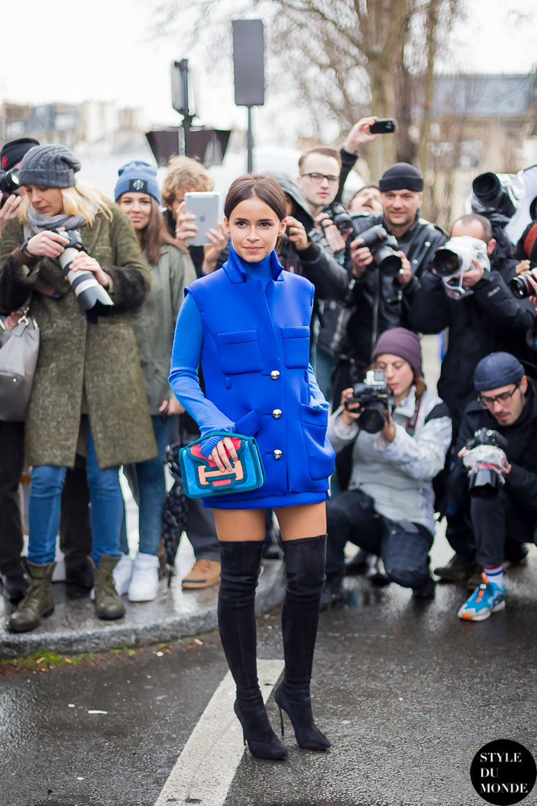paris fashion week fw 2014 street style miroslava duma
