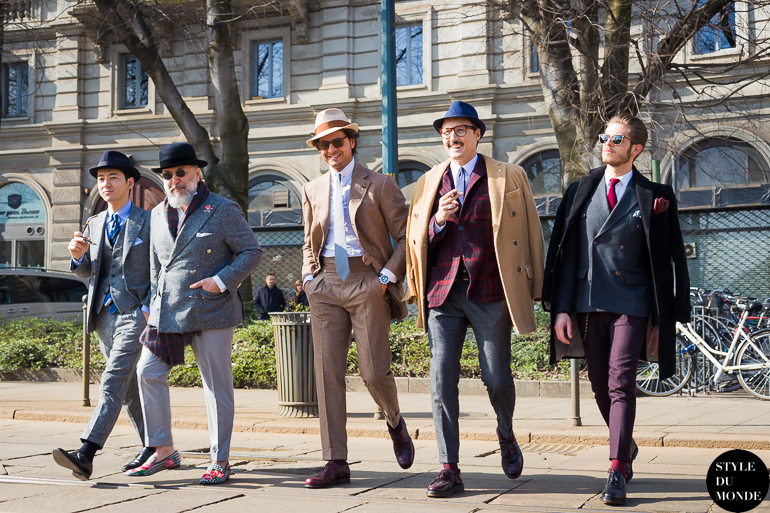 Mr Raro and his friends Street Style Street Fashion by STYLEDUMONDE Street Style Fashion Blog