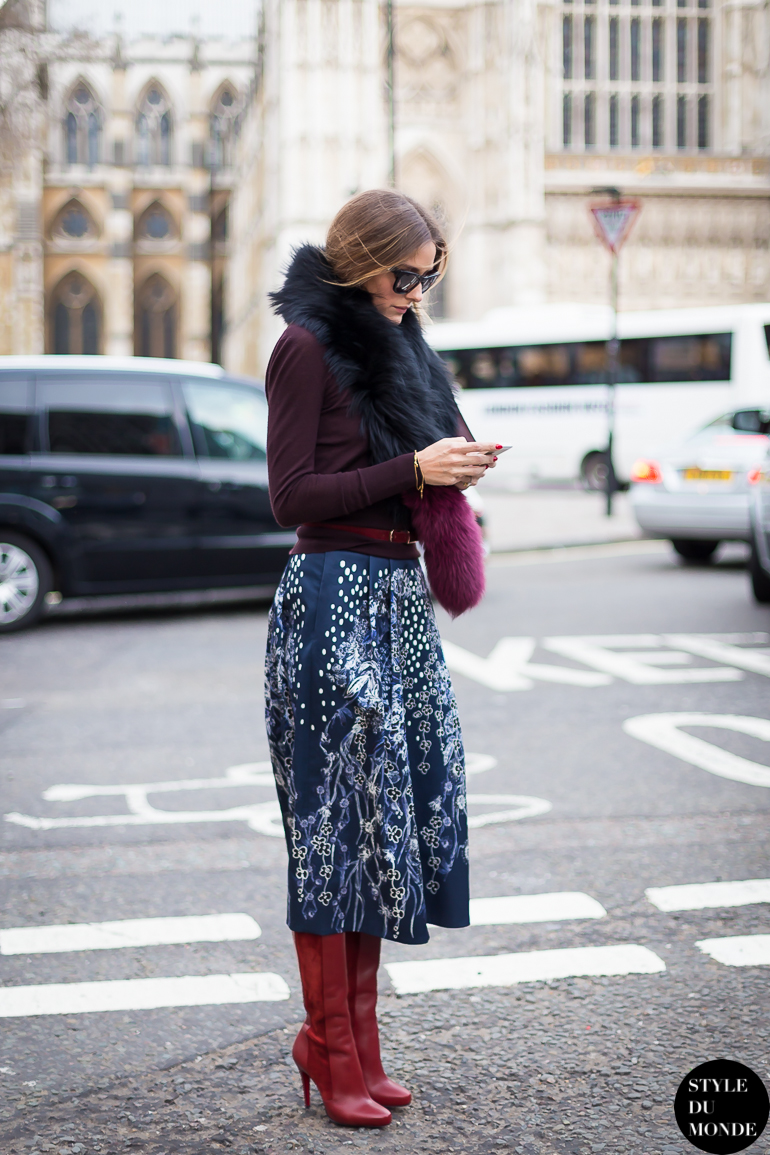 Olivia Palermo Street Style Street Fashion by STYLEDUMONDE Street Style Fashion Blog