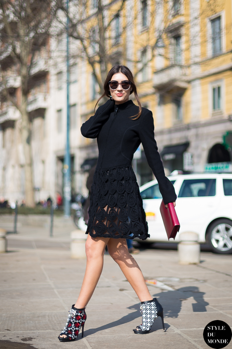 Milan Fashion Week Fw 2014 Street Style Patricia Manfield