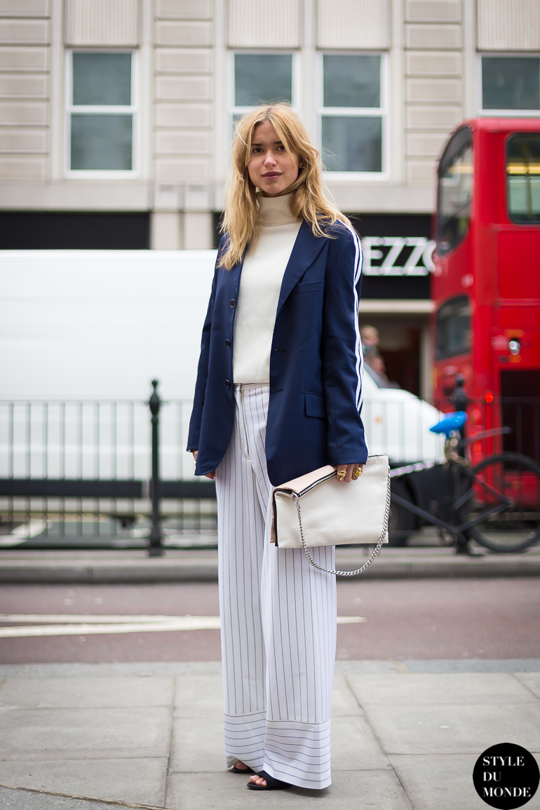 London Fashion Week Fw 2014 Street Style Pernille Teisbaek Style Du Monde Street Style
