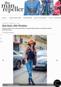 STYLEDUMONDE on the Man Repeller Stephanie LaCava Street Style Street Fashion by STYLEDUMONDE Street Style Fashion Blog
