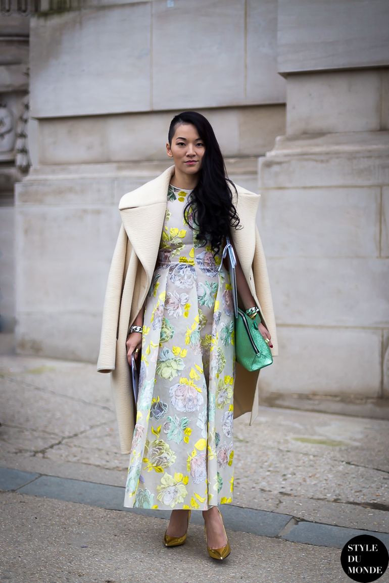 Haute couture ss 2014 street style tina leung style du for Haute couture style