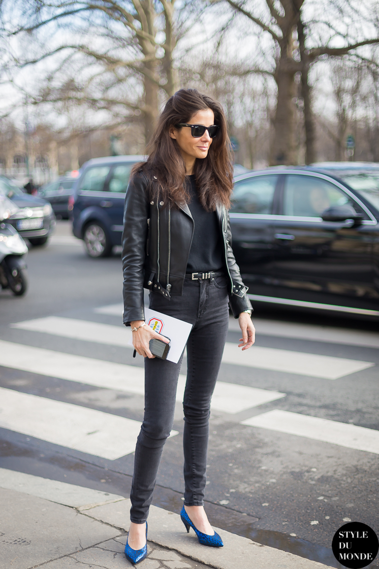 Paris Fashion Week FW 2014 Street Style: Barbara Martelo ...