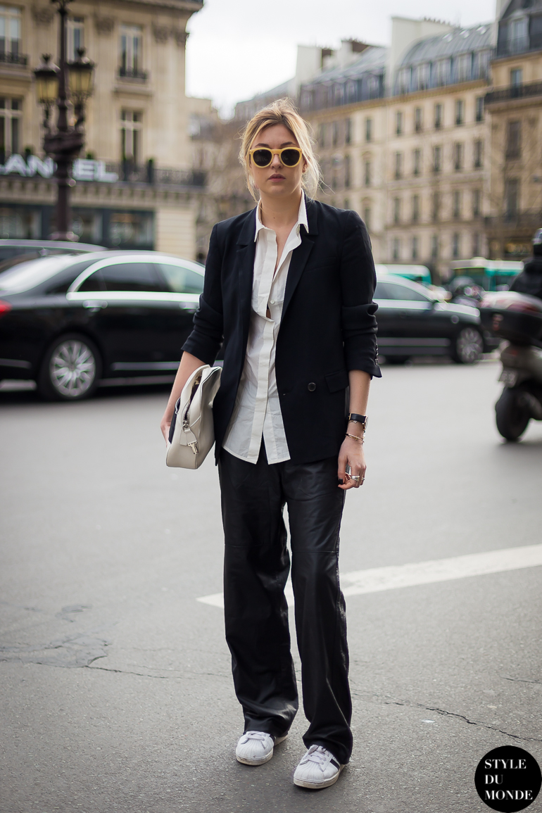 Camille Charrière Camille over the Rainbow Street Style Street Fashion by STYLEDUMONDE Street Style Fashion Blog