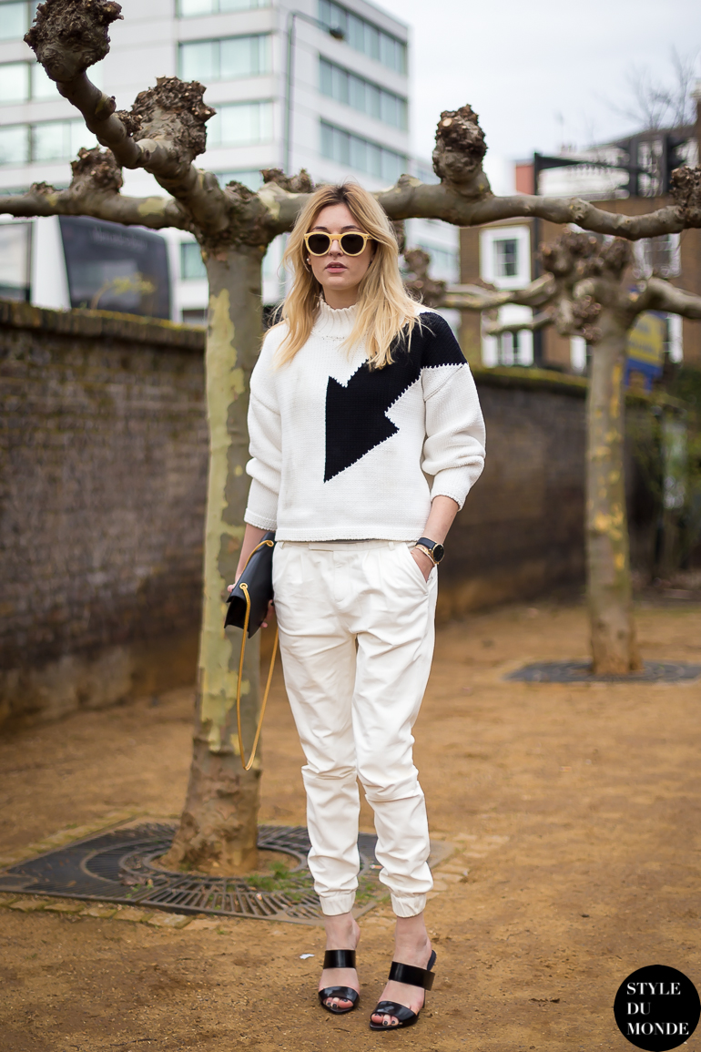 Camille Charrière of Camille Over the Rainbow Street Style Street Fashion by STYLEDUMONDE Street Style Fashion Blog