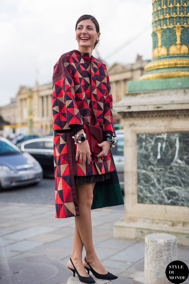 Paris Fashion Week Fw 2014 Street Style Anna Dello Russo