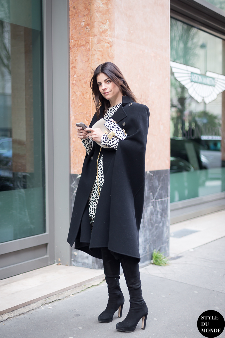 Paris Fashion Week Fw 2014 Street Style Julia Restoin