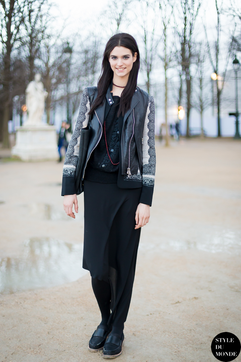 Manon Leloup Street Style Street Fashion by STYLEDUMONDE Street Style Fashion Blog