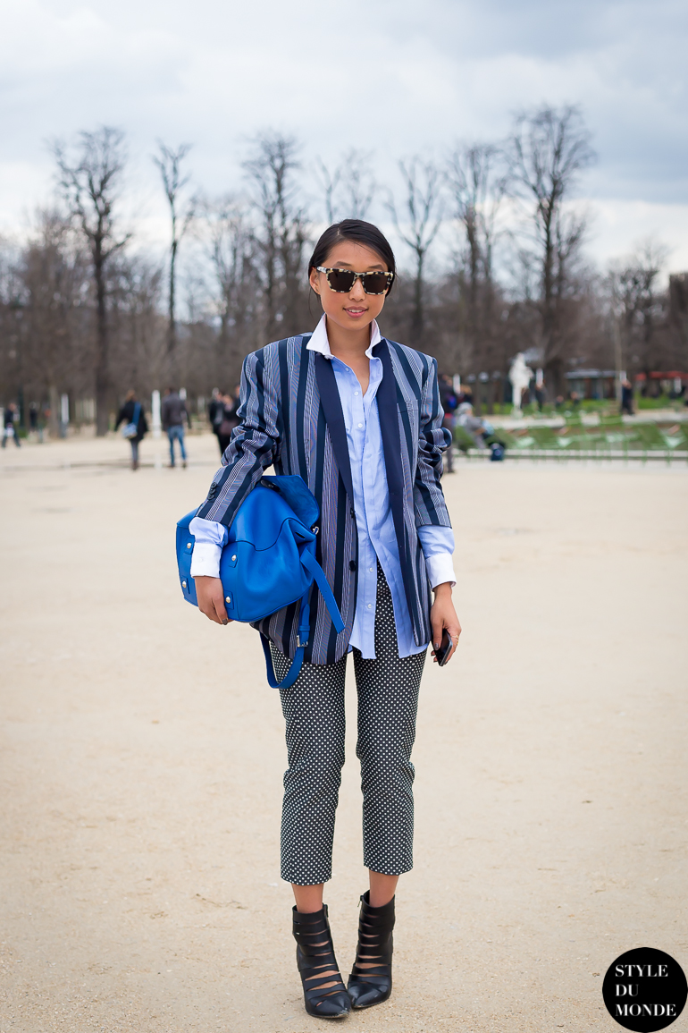 Margaret Zhang Shine By Three Street Style Street Fashion by STYLEDUMONDE Street Style Fashion Blog