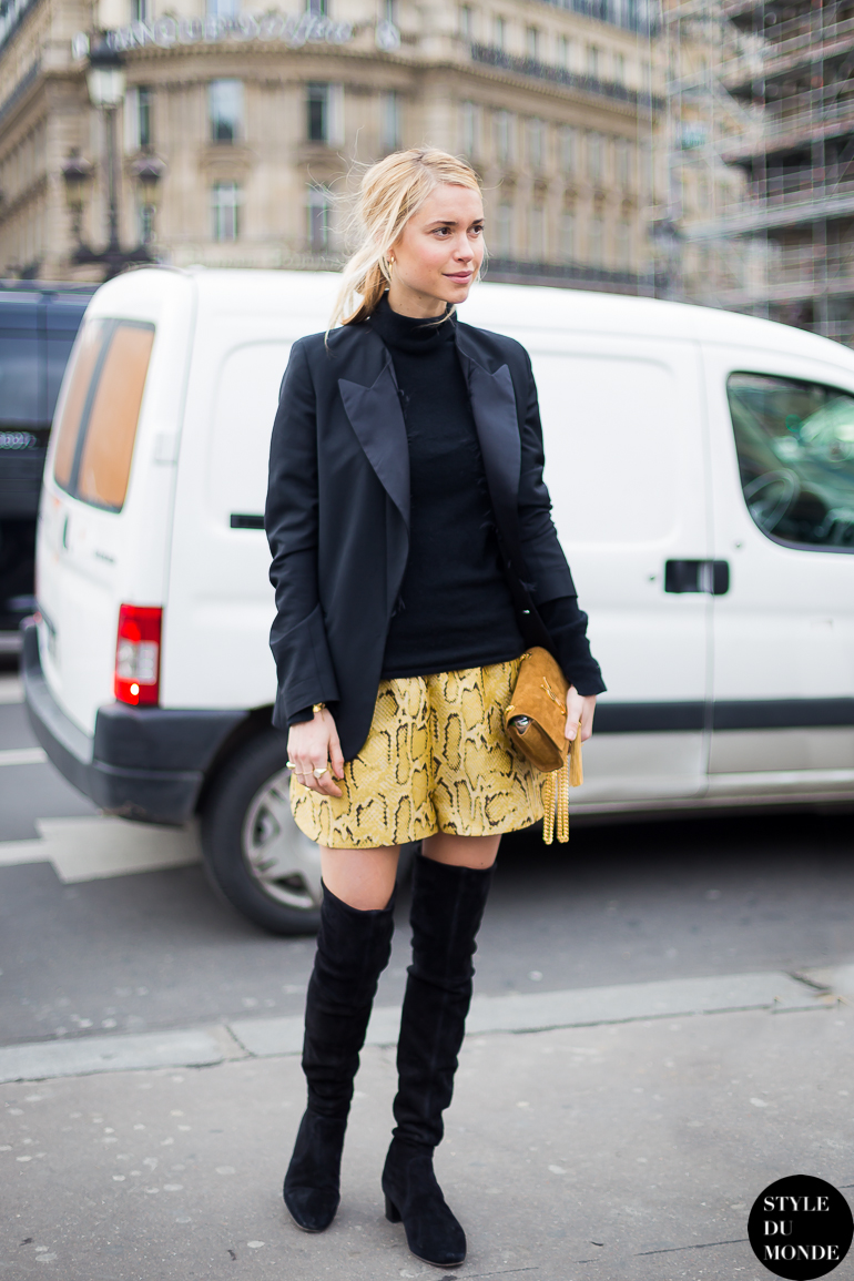 Pernille Teisbæk Look de Pernille Street Style Street Fashion by STYLEDUMONDE Street Style Fashion Blog
